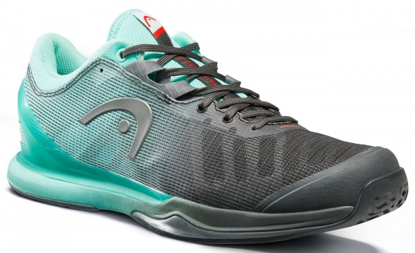 Męskie buty tenisowe Head Sprint Pro 3.0 Men - black/teal