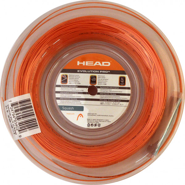 Squashikeeled Head Evolution Pro (110 m) - orange