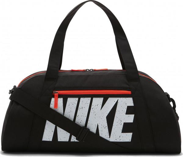 Nike Gym Club Training Duffel Bag - black/total crimson/white