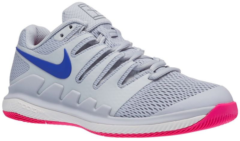Damskie buty tenisowe Nike WMNS Air Zoom Vapor X - pure platinum/racer blue