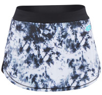Damska spódniczka tenisowa Lotto Batik Printed Skirt - white/black