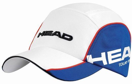 Head Tour Team Functional Cap - white/blue