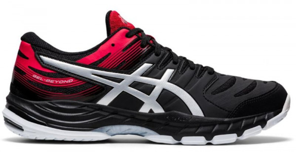 Buty do squasha Asics Gel-Beyond 6 - black/classic red