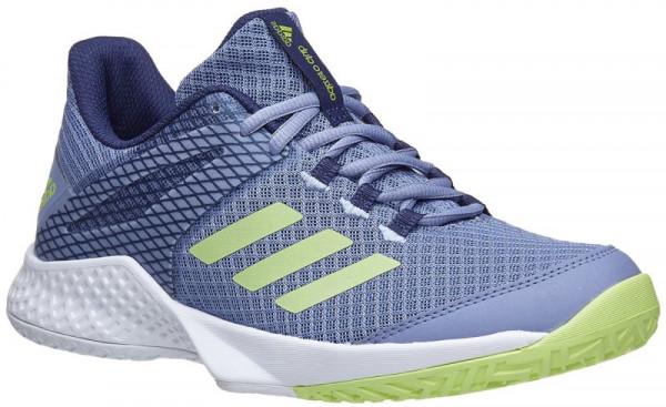 8860752ba9 Damskie buty tenisowe Adidas Adizero Club W - chalk blue frozen  yellow noble indigo