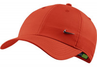 Kapa za tenis Nike H86 Metal Swoosh Cap - team orange