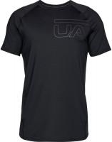 Męski T-Shirt Under Armour Raid 2.0 Graphic SS - black