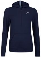 Naiste tennisedžemper Head Lob Hoodie W - dark blue