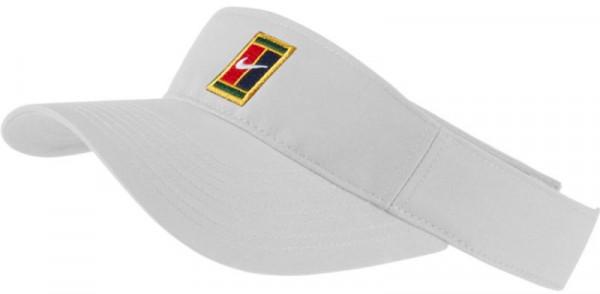 Tenisa nadziņš Nike Visor Heritage Logo - white