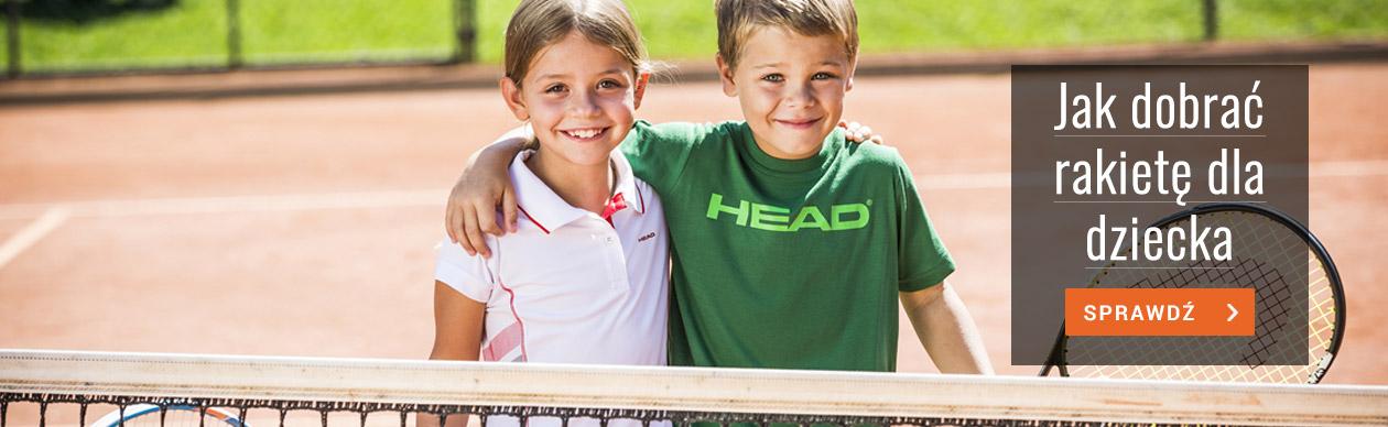 Strefa Tenisa - Jak dobrać rakietę tenisową dla dziecka