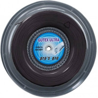 Tennis String Pro's Pro Gutex Ultra (200 m) - black
