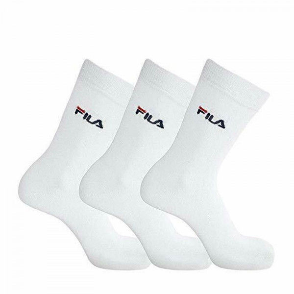 Skarpety tenisowe Fila Lifestyle socks Unisex - 3 pary/white