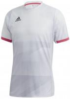 Teniso marškinėliai vyrams Adidas M Freelift Olympic Tee HEAT.RDY - white