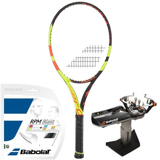 Babolat Pure Aero Lite Decima Roland Garros + naciąg + usługa serwisowa
