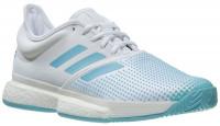 Teniso batai vyrams Adidas SoleCourt Boost M - ftwr white/vapour blue/blue spirit