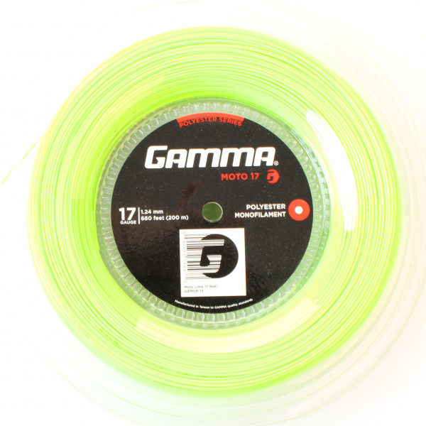 Teniso stygos Gamma MOTO (200 m) - lime