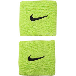 Aproces Nike Swoosh Wristbands - atomic green
