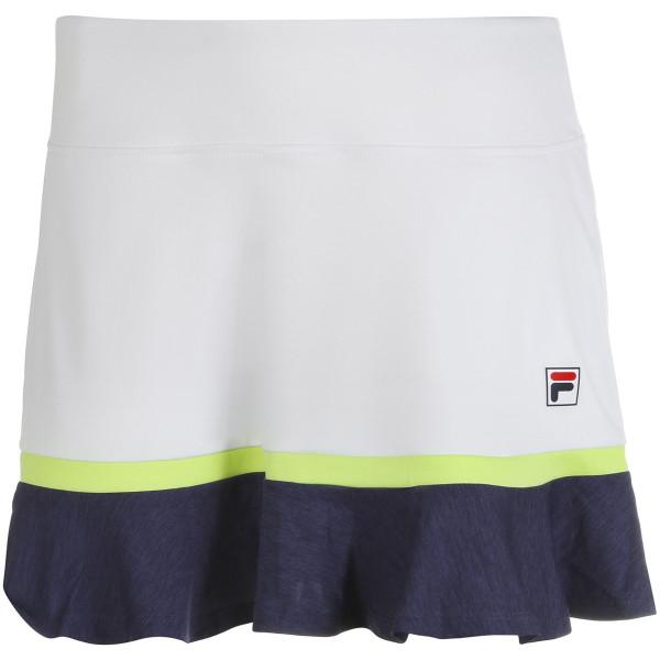 Damska spódniczka tenisowa Fila Skort Selina W - white