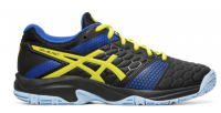 Buty do squasha Asics Gel-Blast 7 GS - black/sour yuzu