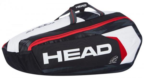 Head Novak Djokovic 9R Supercombi - black/white