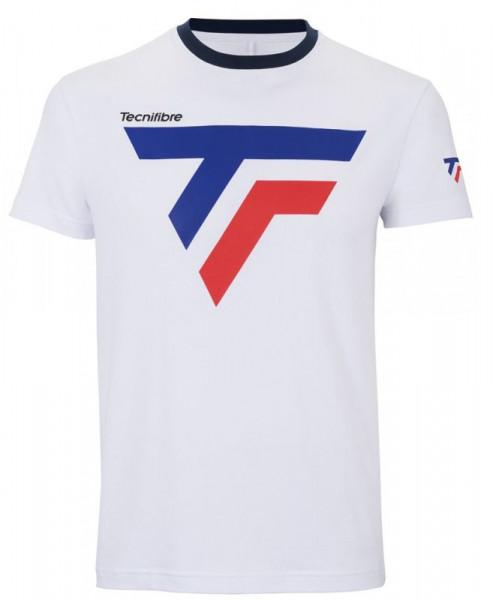 Męski T-Shirt Tecnifibre Cotton Tee Pro - white