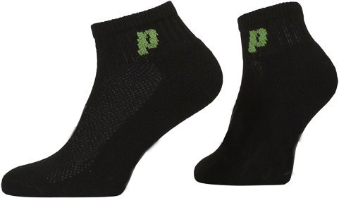 Socks Prince Classic Quarter - 3 pary/black