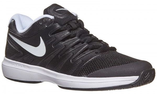 Juniorskie buty tenisowe Nike Air Zoom Prestige HC JR - black/white