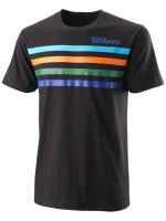 Męski T-Shirt Wilson M Slams Tech Tee - black