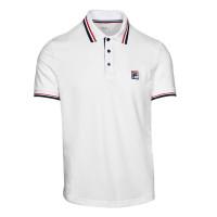 Tenisa polo krekls vīriešiem Fila Polo Albert M - white