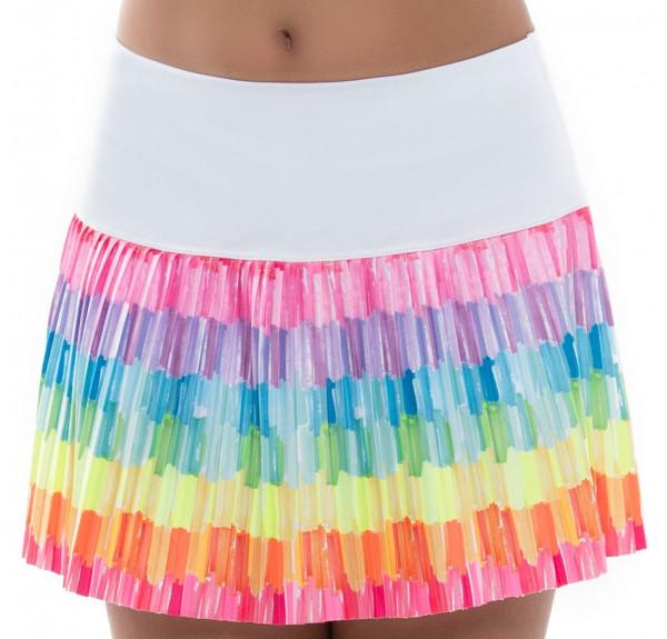 Spódniczka dziewczęca Lucky in Love Novelty Print Crafty Scribble Pleated Skirt Girls - multicolor