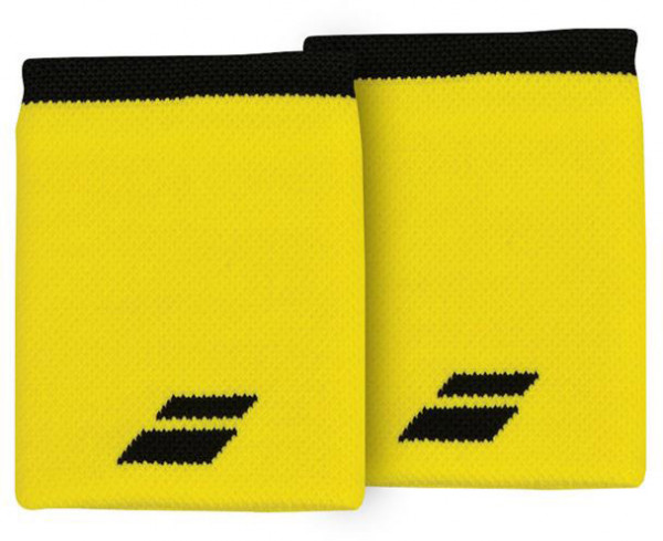 Riešo apvijos Babolat Logo Jumbo Wristband - blazing yellow/black