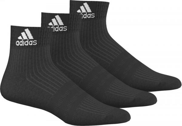 Skarpety tenisowe Adidas 3S Performance Ancle HC 3PP - 3 pary/black