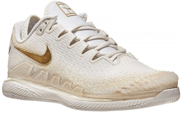 Damskie buty tenisowe Nike WMNS Air Zoom Vapor X Knit - phantom/metallic gold