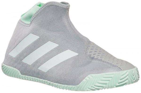 Męskie buty tenisowe Adidas Stycon M - grey two/ftwr white/dash green