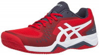 Asics Gel-Challenger 12 Clay - classic red/white