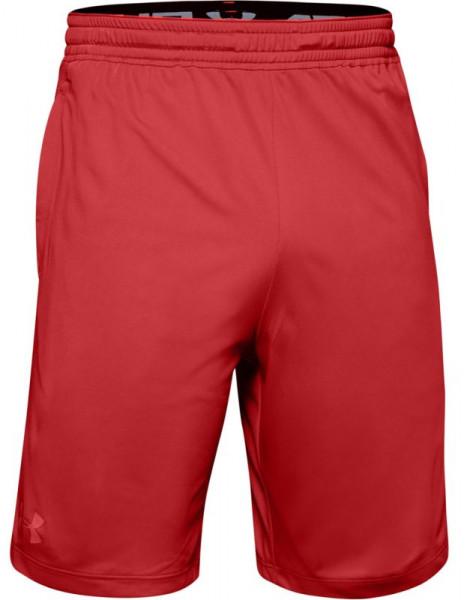Męskie spodenki tenisowe Under Armour Raid 2.0 Short - red