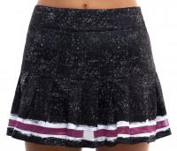 Naiste tenniseseelik Lucky in Love City Graffiti Long Roller Pleated Skirt Women - black