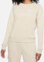 Damska bluza tenisowa Nike Essential Crew Fleece W - rattan/white