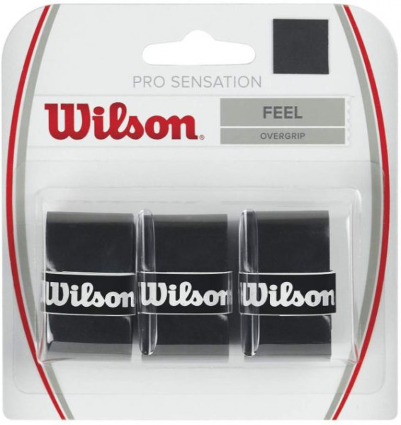 Overgrip Wilson Pro Sensation (3 szt.) - black