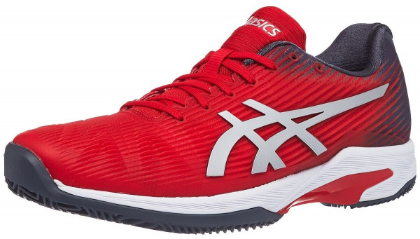 Męskie buty tenisowe Asics Solution Speed FF Clay - classic red/pure silver