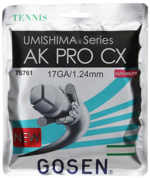 Tenisa stīgas Gosen Umishima AK PRO CX (12.2 m) - natural