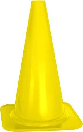 "Pachołek treningowy Pro's Pro Cone Profi 15"" - yellow"