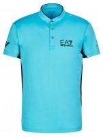 EA7 Man Jersey Jumper - blue curacao