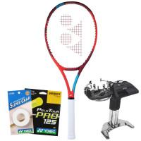 Rakieta tenisowa Yonex VCORE 100L (280g) - tango red + naciąg + usługa serwisowa