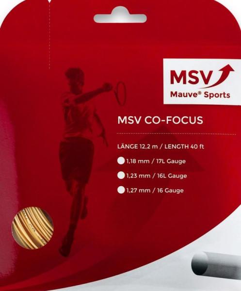 Naciąg tenisowy MSV Co. Focus (12 m) - natural