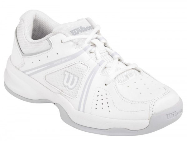 Wilson Envy Jr - white/white/pearl gray