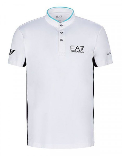 Meeste tennisepolo EA7 Man Jersey Jumper - white