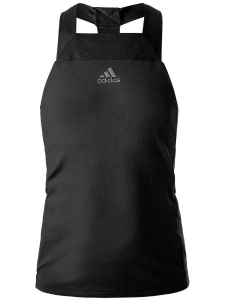 Koszulka dziewczęca Adidas G Barricade Tank - black
