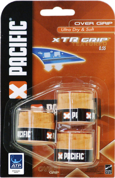 Owijki tenisowe Pacific XTR Grip (3 szt.) - orange
