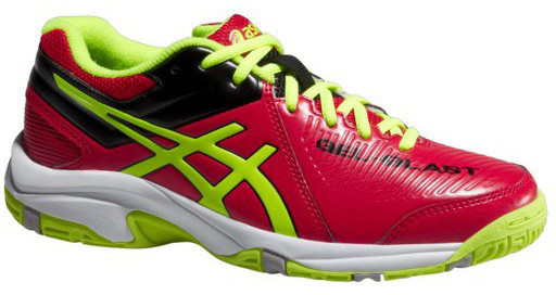 Junior squash shoes Asics Gel-Blast 6 GS - chinese red/flash yellow/black