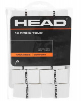 Owijki tenisowe Head Prime Tour 12P - white